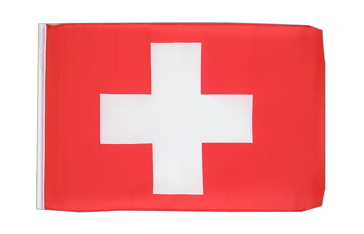 Switzerland - 12x18 in Flag