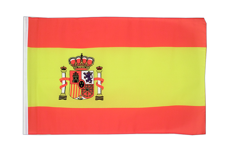 Spain with crest - 12x18 in Flag