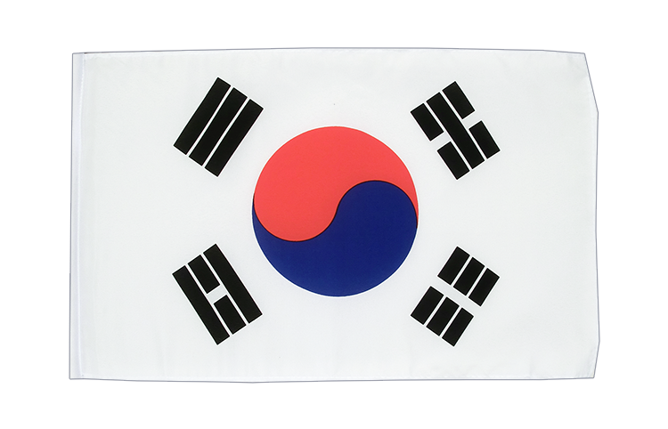 Small Flag South Korea - 12x18""