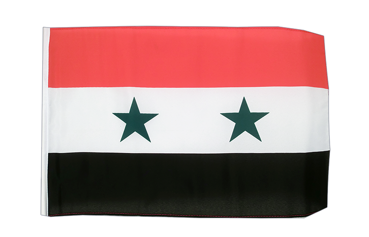 Syria - 12x18 in Flag