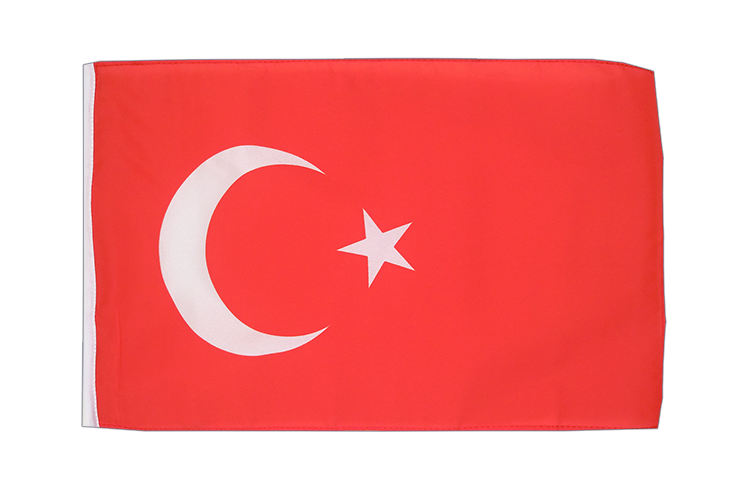 Turkey - 12x18 in Flag