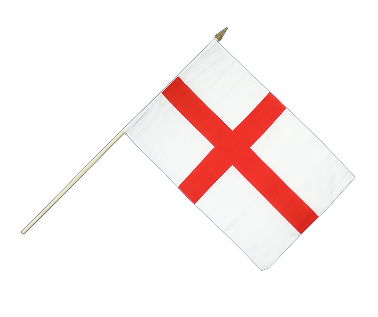 England St. George Stockflagge 30 x 45 cm