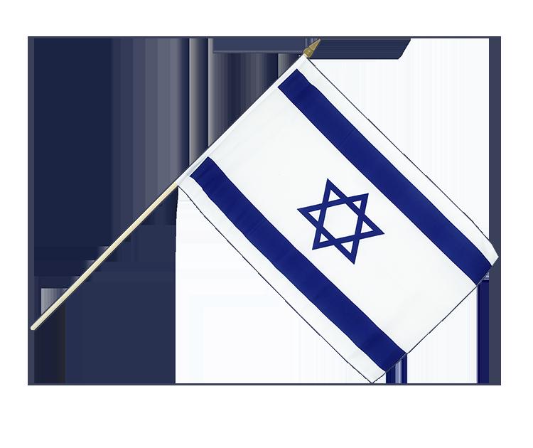 israel stockfahne stockflagge 30 x 45 cm flaggenplatz online shop. Black Bedroom Furniture Sets. Home Design Ideas