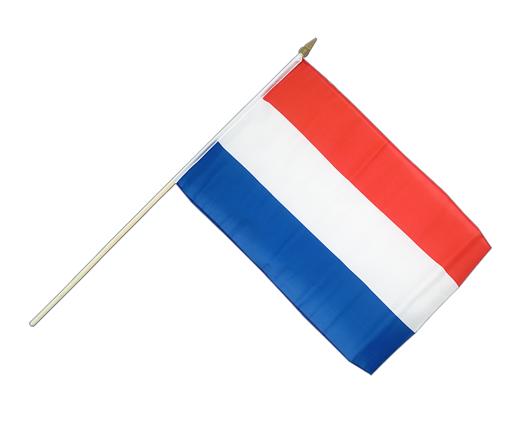 "Hand Waving Flag Luxembourg - 12x18"" (30 x 45 cm)"