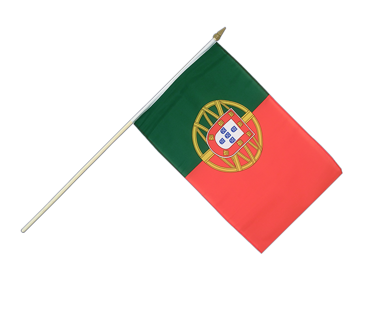 "Hand Waving Flag Portugal - 12x18"" (30 x 45 cm)"