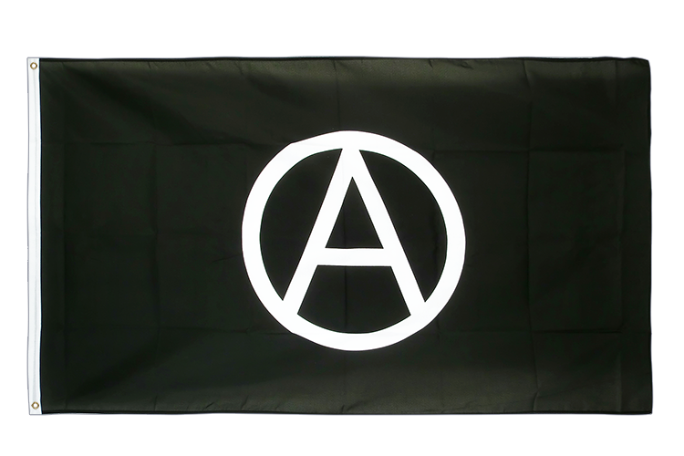 3x5 Anarchy Flag