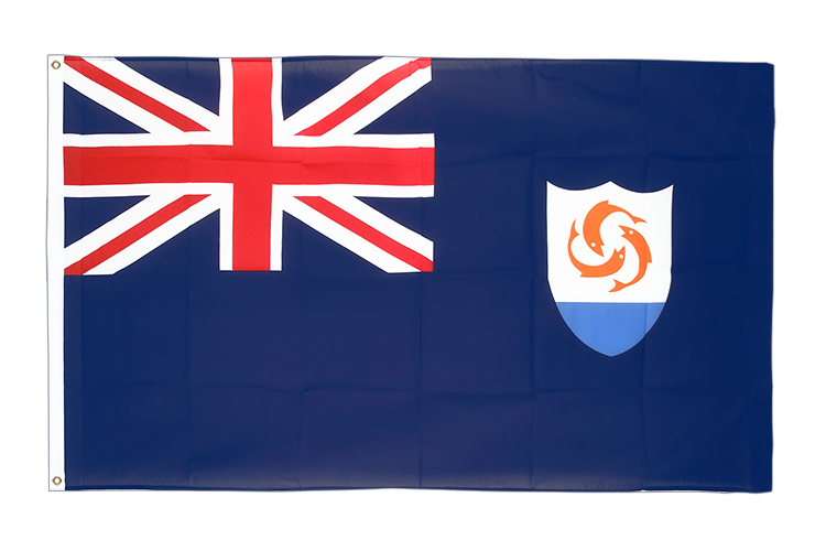 Anguilla - 3x5 ft Flag