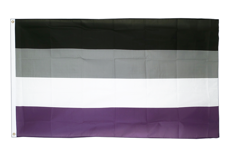 Asexual - 3x5 ft Flag