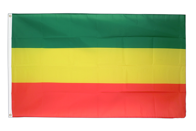 3x5 Ethiopia without star Flag
