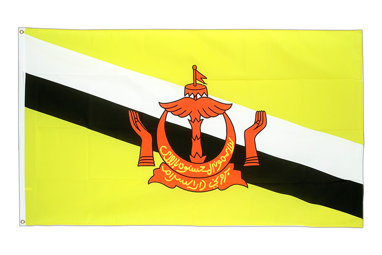 Brunei - 3x5 ft Flag