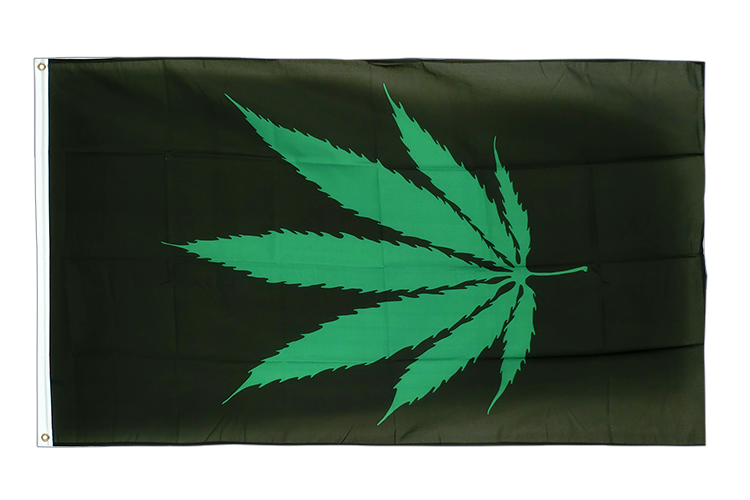 Cannabis Reggae - 3x5 ft Flag
