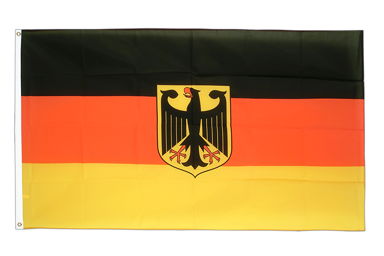 flagge deutschland dienstflagge kaufen 90 x 150 cm. Black Bedroom Furniture Sets. Home Design Ideas