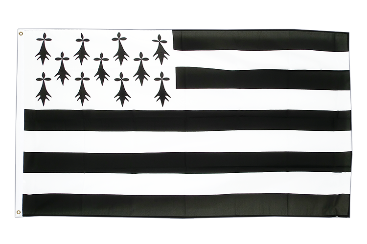 Buy Brittany Flag - 3x5 ft