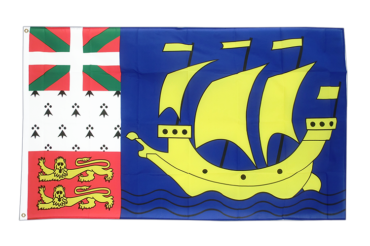 Flag Saint Pierre and Miquelon - 3x5 ft