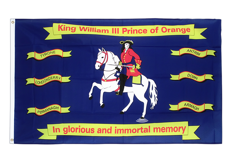King William of Orange Flagge 90 x 150 cm