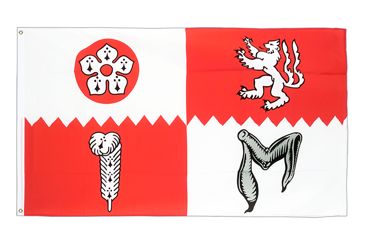 Flag Leicestershire - 3x5 ft