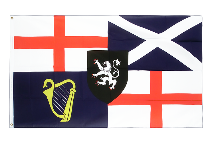 Flag United Kingdom Lord Protector Banner und Command Flag 1658-59 - 3x5 ft