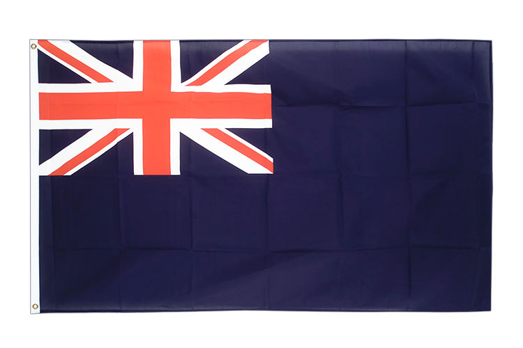 United Kingdom Naval Blue Ensign 1659 - 3x5 ft Flag