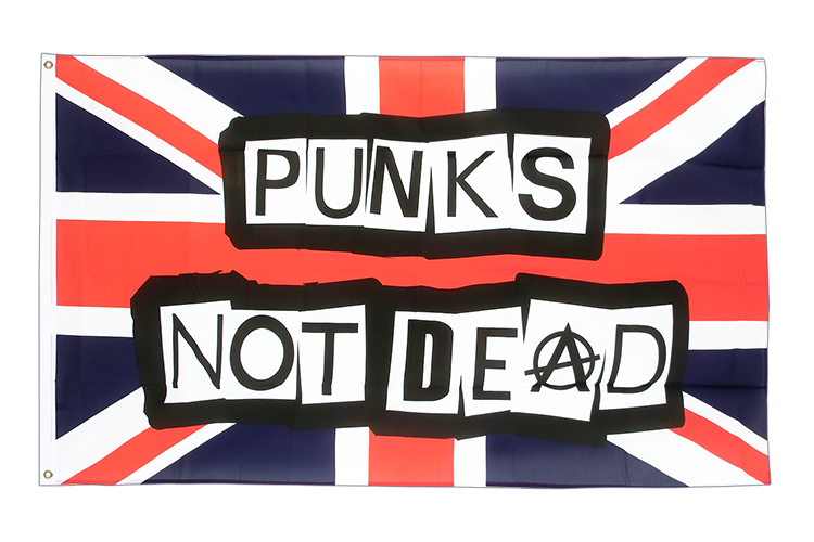 Punks Not Dead - 3x5 ft Flag