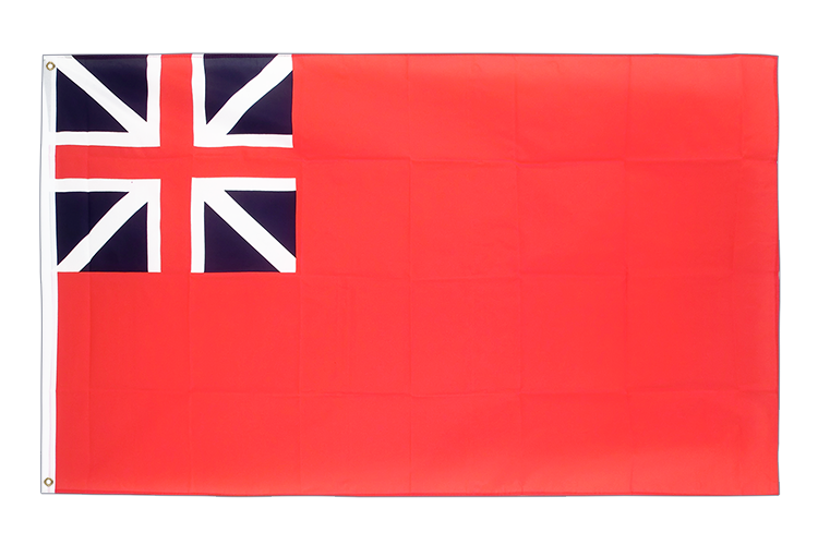 3x5 United Kingdom Red Ensign 1707-1801 Flag
