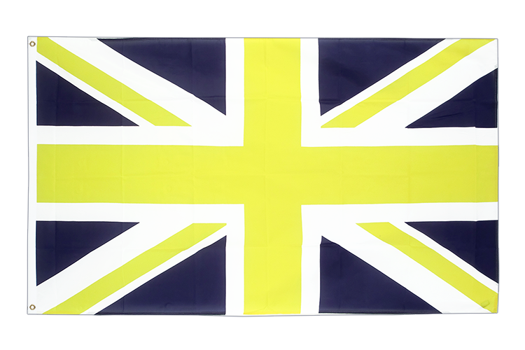 Union Jack blue yellow - 3x5 ft Flag