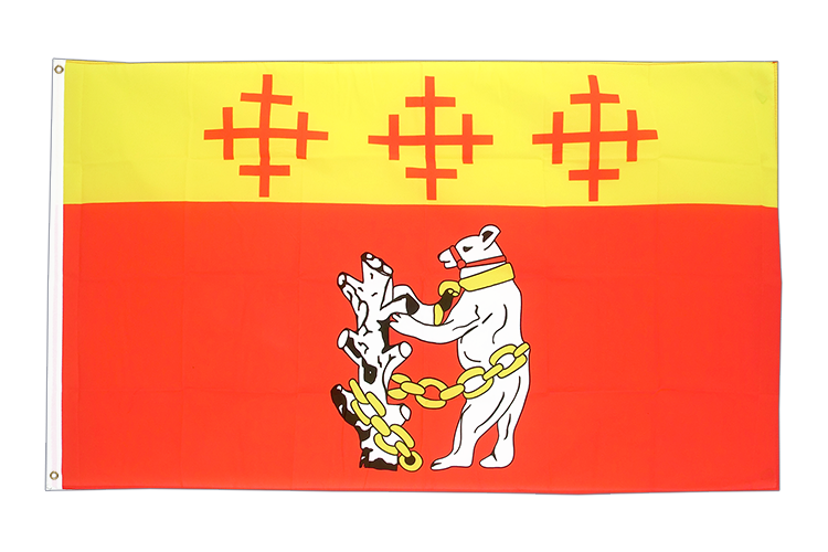 Warwickshire - 3x5 ft Flag