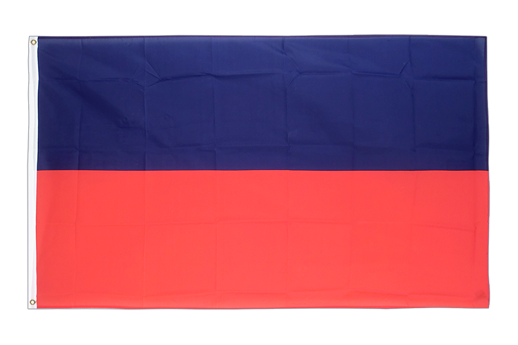 Haiti without crest - 3x5 ft Flag