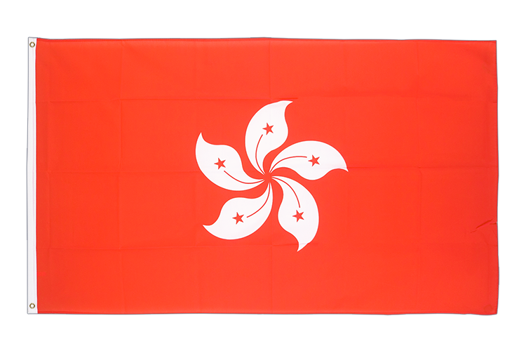 Hong Kong - 3x5 ft Flag