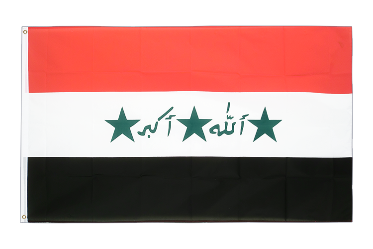 Iraq old 1991-2004 - 3x5 ft Flag