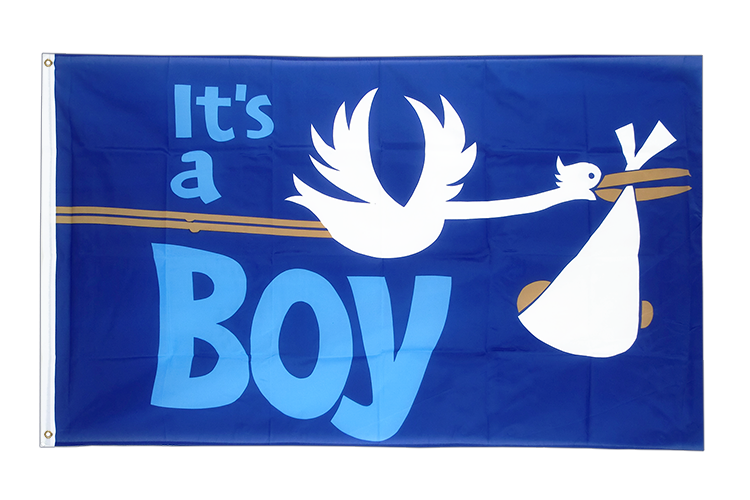 It's a boy Flagge 90 x 150 cm