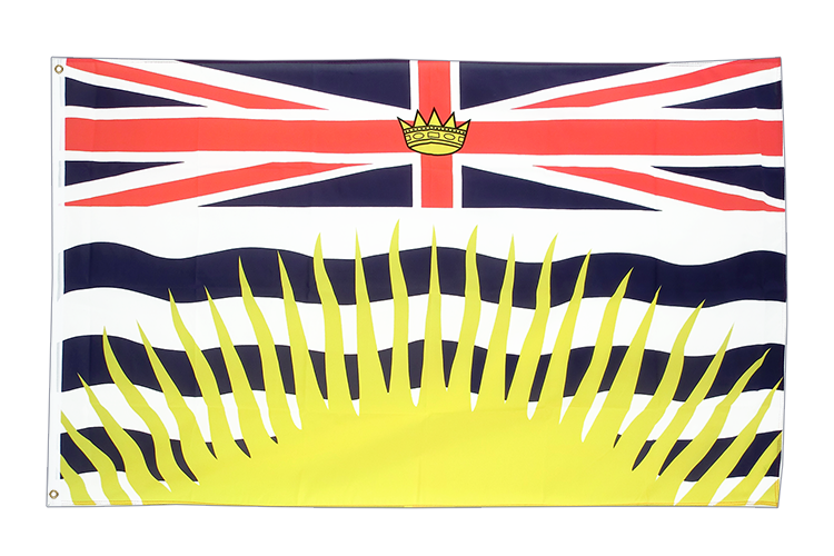 British Columbia - 3x5 ft Flag