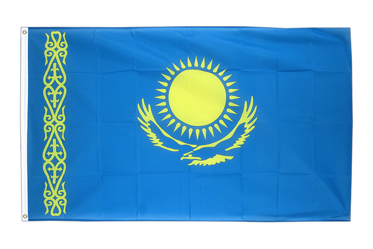 Kazakhstan - 3x5 ft Flag