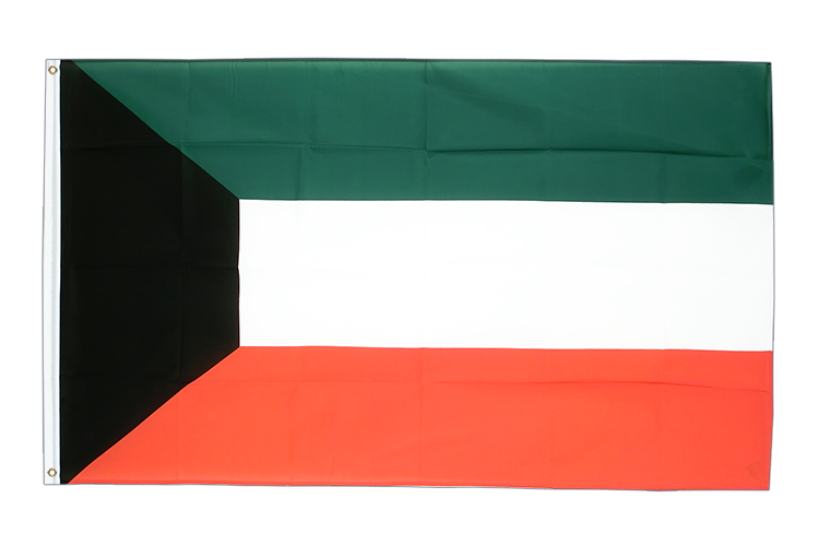 Kuwait - 3x5 ft Flag