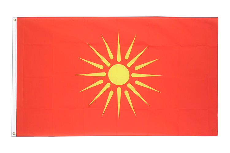 Macedonia old 1992-1995 - 3x5 ft Flag
