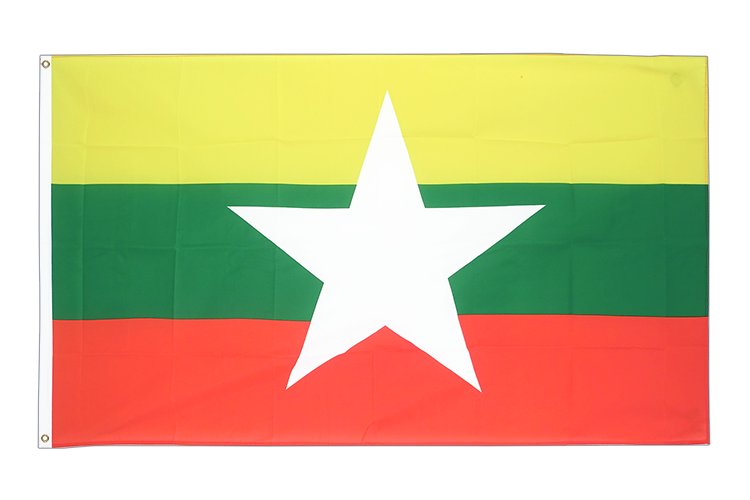 Myanmar new - 3x5 ft Flag