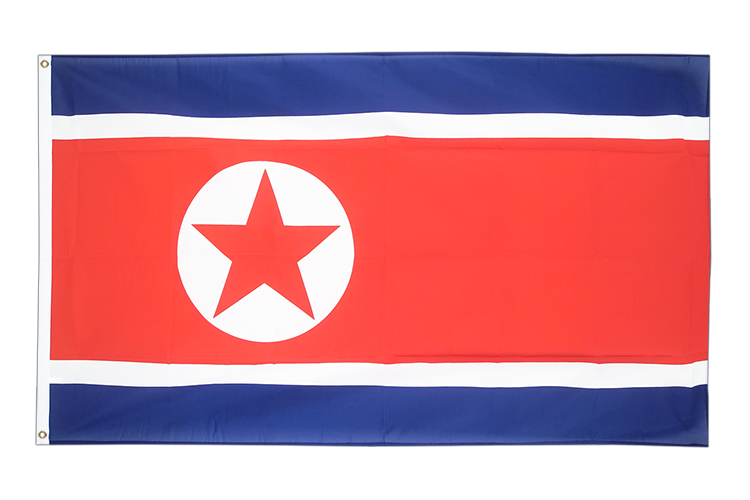 North corea - 3x5 ft Flag