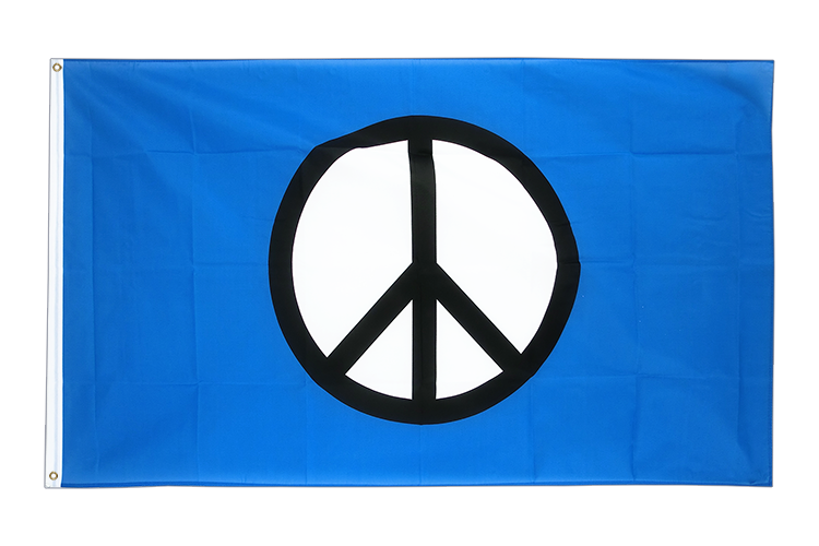 Peace CND - 3x5 ft Flag