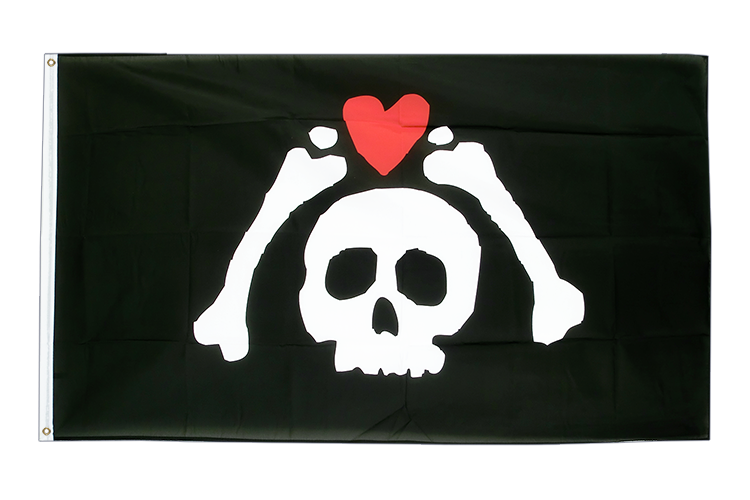 Pirate Micropose - 3x5 ft Flag