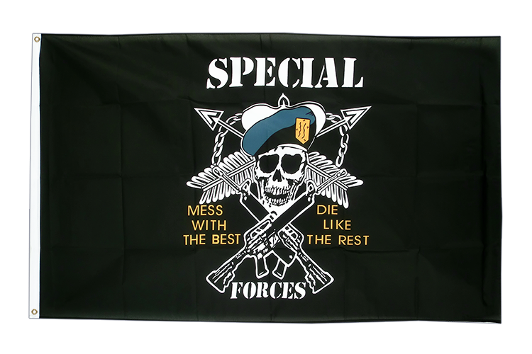 Vente drapeau Pirate Specialforces