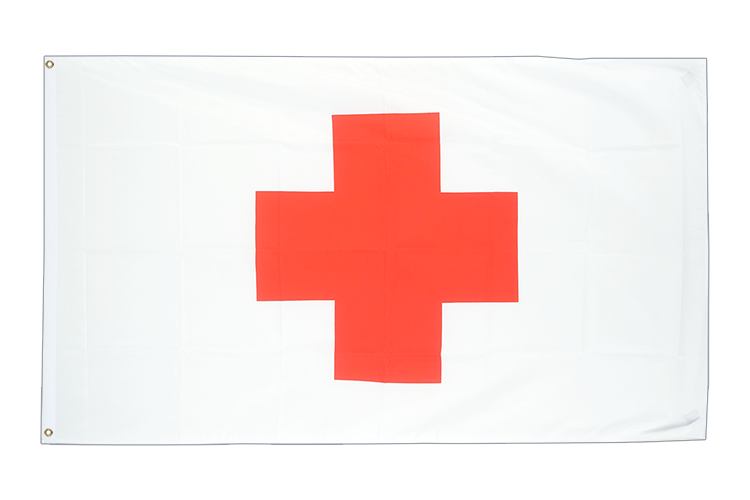 3x5 Red Cross Flag