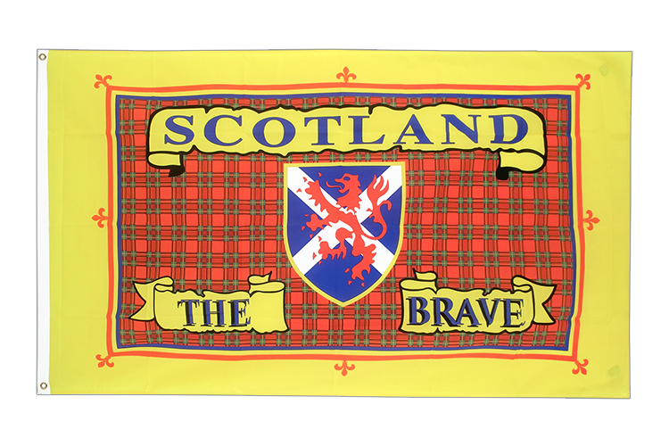 Schottland Scotland The Brave Flagge 90 x 150 cm