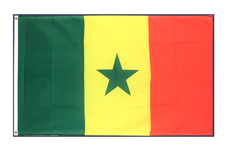 Vente drapeau Sénégal