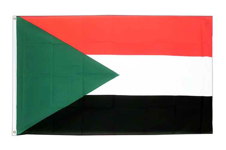 Flag Sudan - 3x5 ft