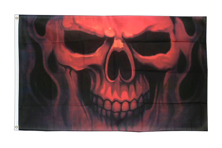 Flag Skull Ghost - 3x5 ft