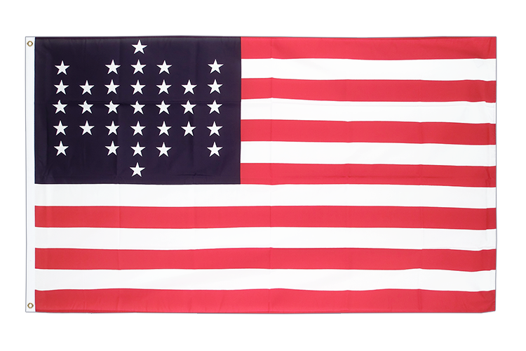 33 Sterne Fort Sumter Union Civil War 1861 - Flagge 90 x 150 cm kaufen