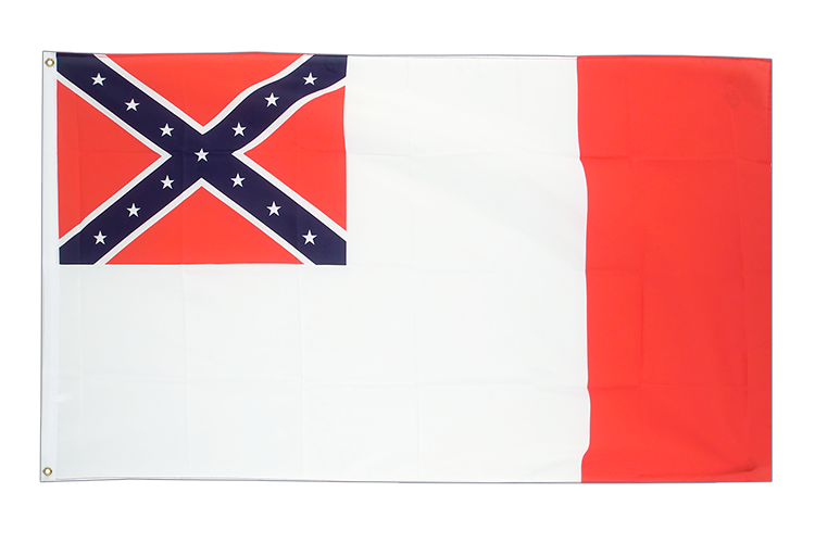 3x5 USA 3rd Confederate Flag