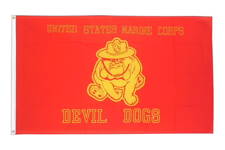 USA Devil Dogs - 3x5 ft Flag