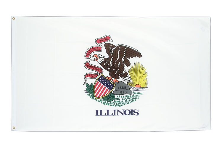 Illinois - 3x5 ft Flag