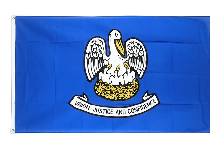Flag Louisiana - 3x5 ft