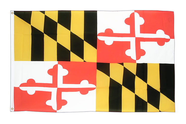 3x5 Maryland Flag